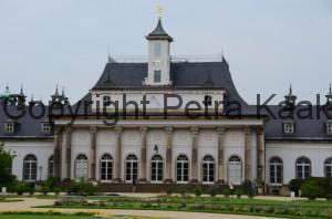 Zonnewijzer Schloss Pillnitz Duitsland
