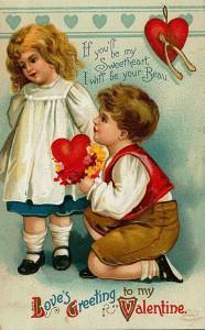 Oude Valentijnskaart