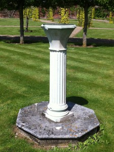 Sundial at Belmont House in Kent