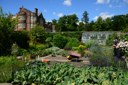 Burton Agnes Hall kitchen garden