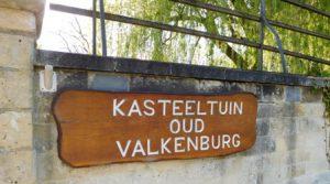 Oude moestuin van kasteel Valkenburg